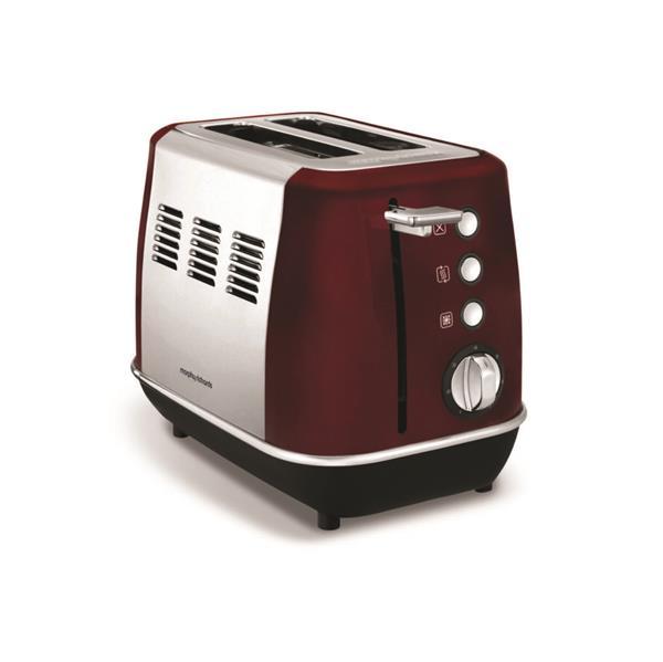 Morphy Richards Evoke Toaster Rød