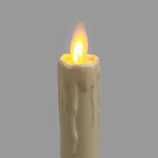 Billede af LED Stearinlys m/fjernbetjening