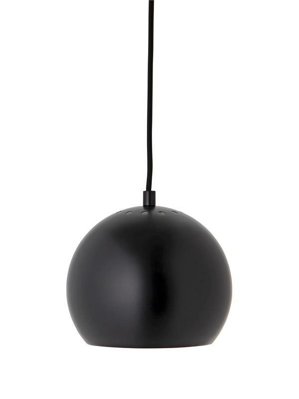 Frandsen - Ball Pendel - Mat sort - Ø18