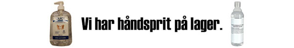 Banner for håndsprit