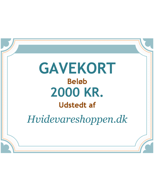 Gavekort 2000 kr.