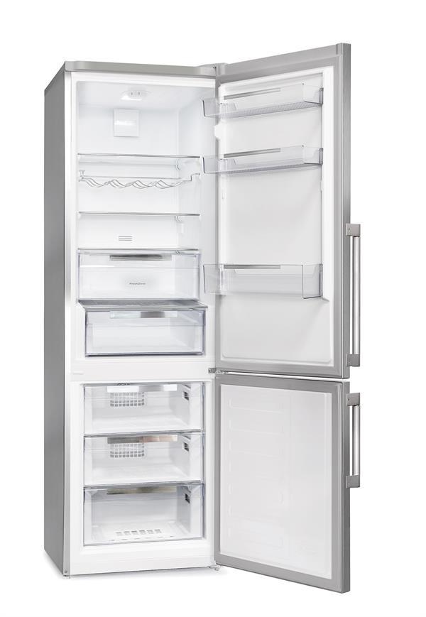 Gram KF 4386-90 FN X/1 køle/fryseskab, stål