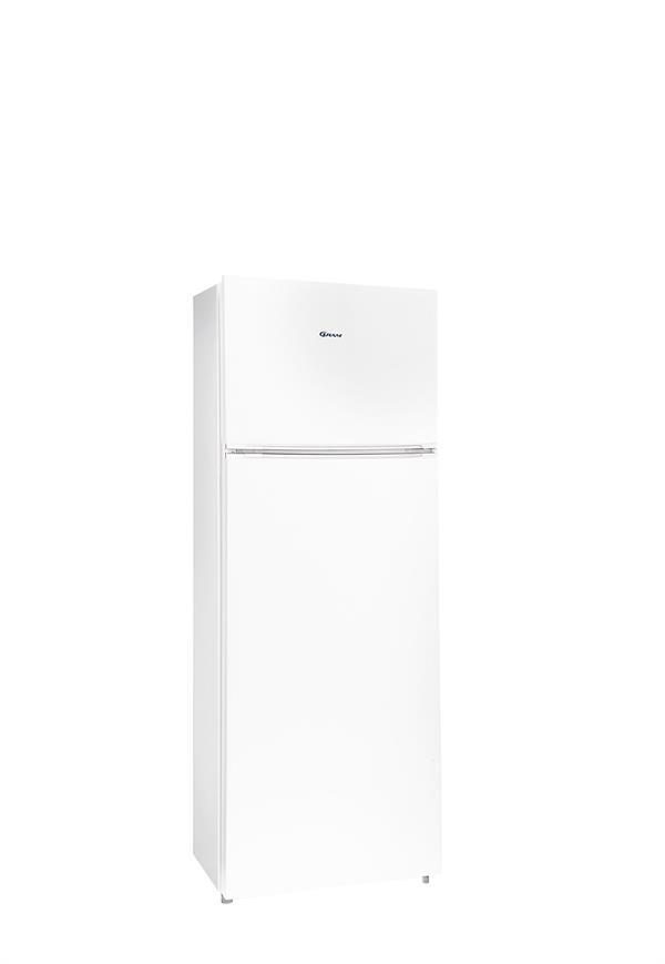 Gram – KF 311452/1 – Fritstående køle fryseskab i hvid
