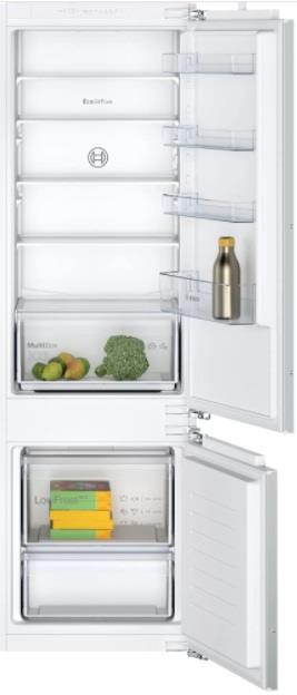 Bosch – KIV87NFF0 – Køle/fryseskab – 2+2 års garanti