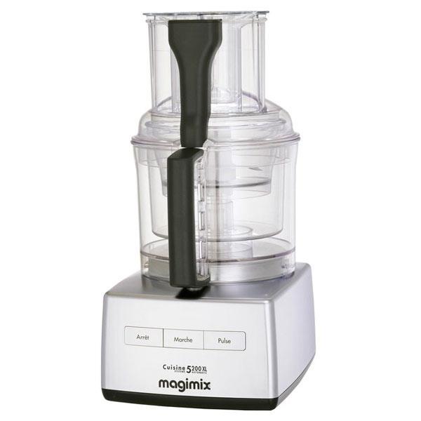 Magimix CS5200 XL foodprocessor mat krom