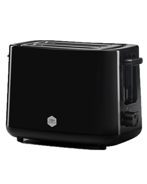 OBH 2260 Toaster Daybreak Black