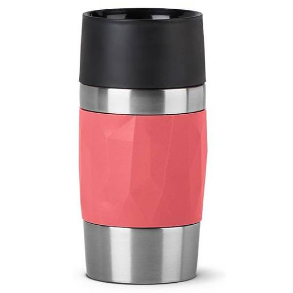 Tefal - Compact - Termokrus 0,3L - Koral rød
