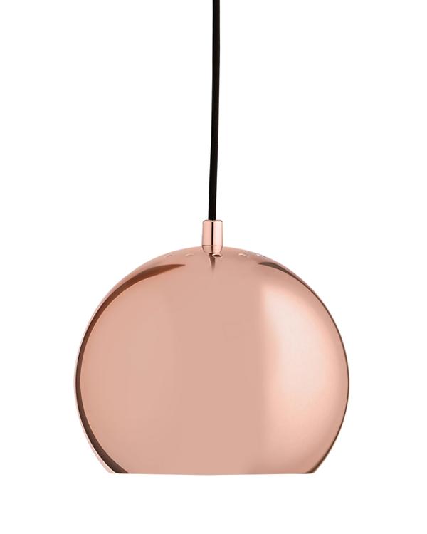 Image of   Frandsen Ball Pendel kobber Ø18