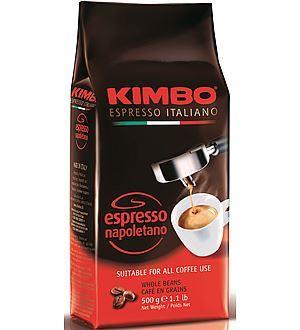 Billede af Kimbo hele hele kaffebønner - 500g.