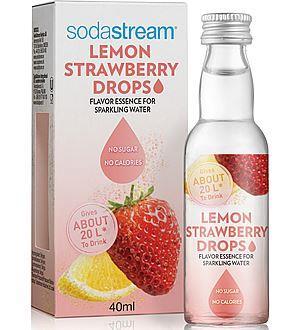 Billede af SodaStream frugtdråber - strawberry/lemon
