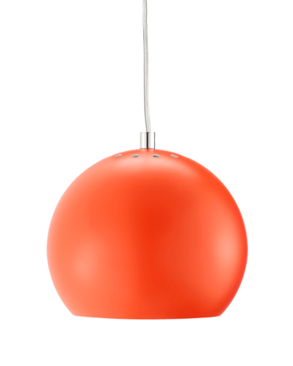 Image of   Frandsen Ball Pendel mat orange Ø18