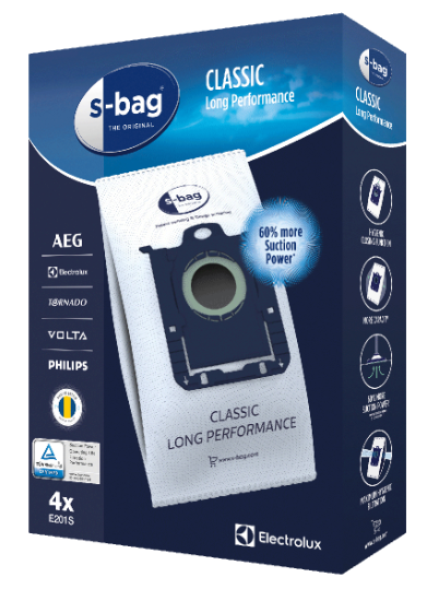 Image of   Electrolux S-Bag E201S Støvsugerposer